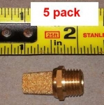 "MUFFLER, 1/4""; package of 5"